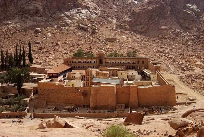 Монастырь святой Екатерины в Шарм эль Шейхе