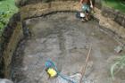 Установка бассейна - подготовка