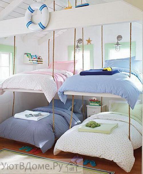 интерьер детской комнаты многодетный