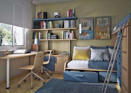 интерьер детской комнаты простой