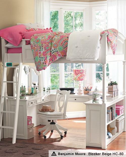 интерьер детской комнаты нежный