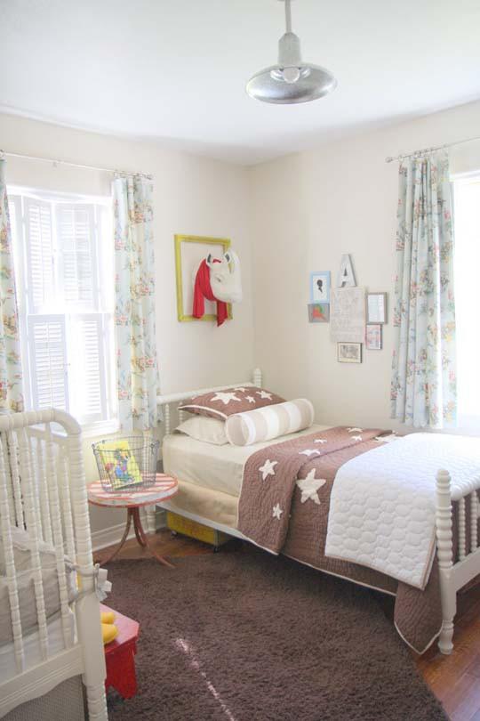интерьер детской комнаты пастель