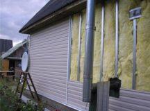 Как недорого утеплить дачный домик
